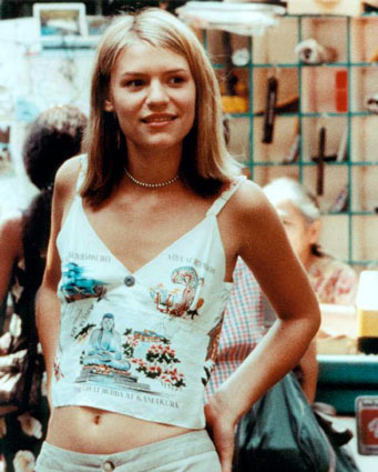 my photo gallery of awesome 90s stomachs | 90sWoman.com Claire Danes Movie